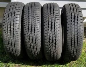 All Season Set of 4 Tires P185/75R14