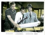 Tony Curtis Signed