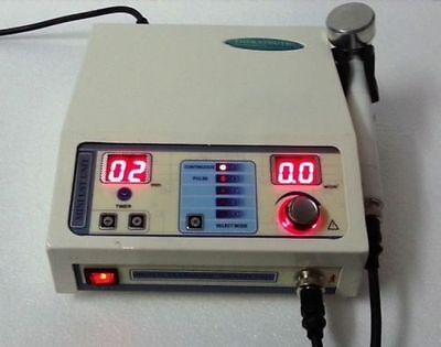 Portable Ultrasound Therapy Unit Pain Relief Therapy 1 Mhz Compact Machine Ds