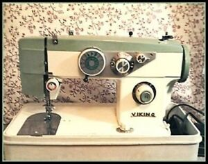 Vintage Viking Sewing Machine Model 817 Embroidery and More
