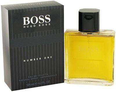 Boss #1 / Number One / NO 1 By Hugo Boss 4.2 Oz EDT Spray NIB Cologne For Men  Hugo Boss Number One