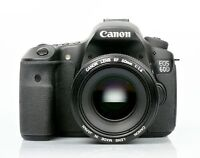 Canon 60D body excellent condition inspecté par Canon.