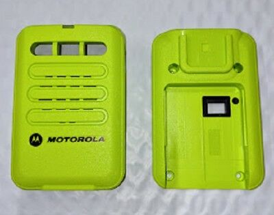 Motorola Minitor Vi 6 Replacement Housing Front Back - Green