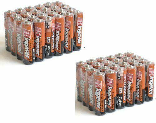 48 Pack AA Batteries Medium Duty 1.5v Wholesale Lot New Fresh