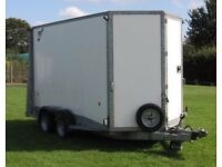 Ifor Williams box trailer BV126