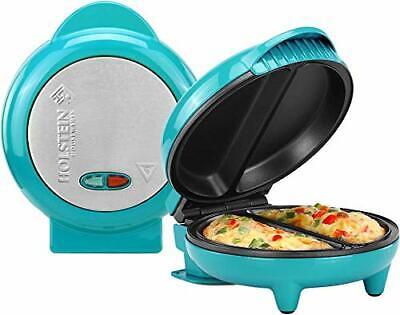 Holstein Housewares HH-09125007E Omelet Maker, Teal Teal