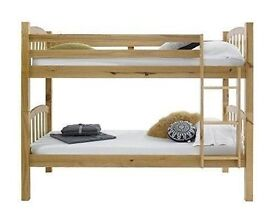 **NEW CHUNKY SOLID PINE BUNK BED**