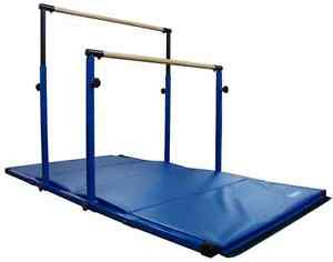 3Play Gymnastics Horizontal Bar and Mat Combo