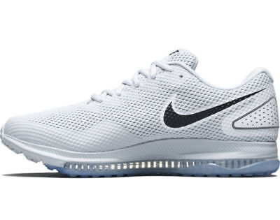 MENS NIKE AIR ZOOM ALL OUT LOW 2 PURE PLATINUM WHITE RUNNING ATHLETIC SHOES 2 Zoom Air Shoes