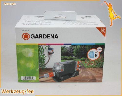 gardena wasserverteiler bew sserungssysteme ebay. Black Bedroom Furniture Sets. Home Design Ideas