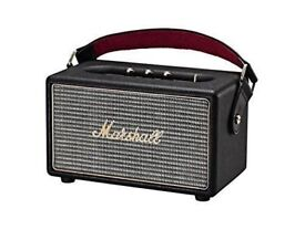 Marshall Kilburn Bluetooth Speaker in Black (NEW & SEALED)