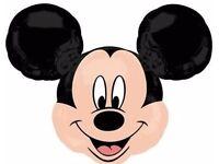 Foil Helium Ballon (Heart, Mickey & Minnie, Hello Kitty) Package