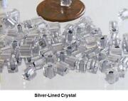 Crystal Beads 4mm Cube