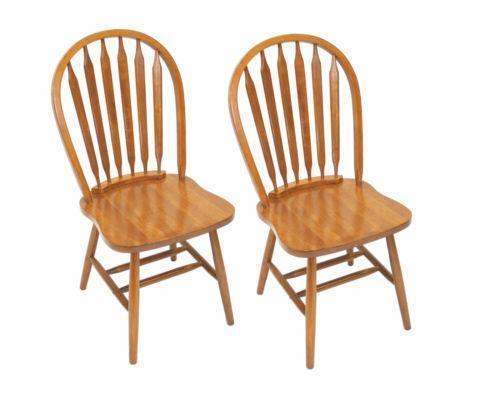 Charmant Oak Dining Room Chairs | EBay