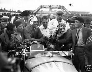 Le Mans 1933 Tazio Nuvolari Raymond Sommer 10x8 Photo