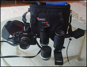 F-1 Canon System for Serious photographer-Price Reduced