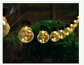 Solar bulb string