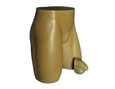 Mn-231 Flesh Male Butt Buttocks Hip Mannequin W Anatomical Interchangeable Part