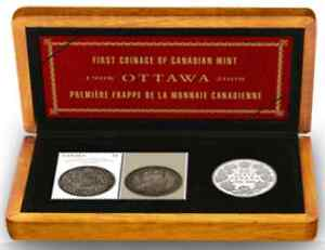 Coin and Stamp Set – Royal Canadian Mint 100th Anniversary