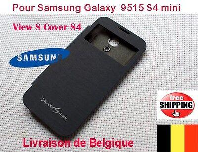 COQUE POUR SAMSUNG FLIP COVER S View Cover Pour 9515 Galaxy S4 mini Bleu