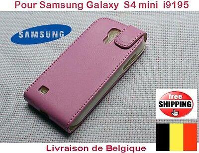 Rose Flip Pochette Coques Pour Samsung Galaxy S4 mini i9150  TOP QUALITÉ