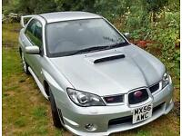 Subaru WRX turbo 2.5l with STI engine conversion