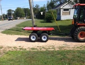 Flat Bed with Walking Beam…nsb