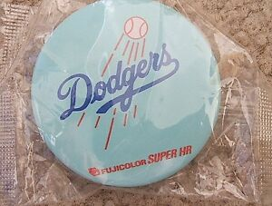Los Angeles Dodgers (MLB) baseball button (Japan only promo)
