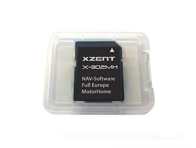 Xzent X302MH Microsd-Card with Igo Primo 2.1 Europakarte GPS