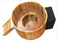 Cedar Hot Tub , traditional hot tub ,electric heat source