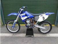 Yz250f 2001 swap or sale not cr, kx, ktm, rm