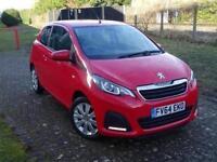 2014 Peugeot 108 1.0 Active 3 door Petrol Hatchback