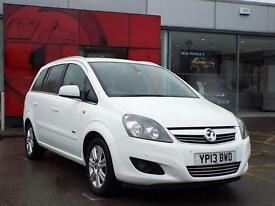 2013 Vauxhall Zafira 1.6i [115] Design Nav 5 door Petrol People Carrier