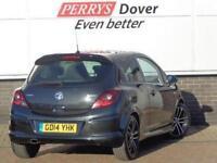 2014 Vauxhall Corsa 1.4T Black Edition 3 door Petrol Hatchback
