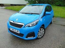2016 Peugeot 108 1.0 Active 3 door Petrol Hatchback