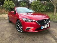 2017 Mazda 6 2.2d Sport Nav 4 door Diesel Saloon