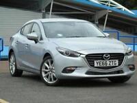2017 Mazda 3 2.2d Sport Nav 4 door [Leather] Diesel Saloon