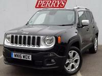 2016 Jeep Renegade 2.0 Multijet Limited 5 door 4WD Auto Diesel Hatchback