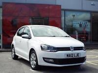 2012 Volkswagen Polo 1.2 60 Match 5 door Petrol Hatchback