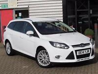 2014 Ford Focus 1.0 125 EcoBoost Zetec Navigator 5 door Petrol Estate