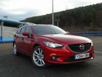 2014 Mazda 6 2.2d [175] Sport Nav 5 door Diesel Estate
