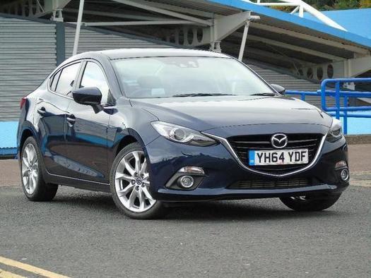 2014 Mazda 3 2.2d Sport Nav 4 door Diesel Saloon