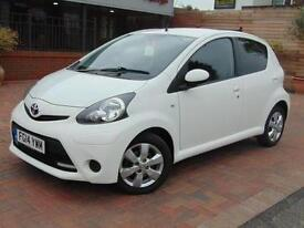 2014 Toyota AYGO 1.0 VVT-i Move with Style 5 door Petrol Hatchback