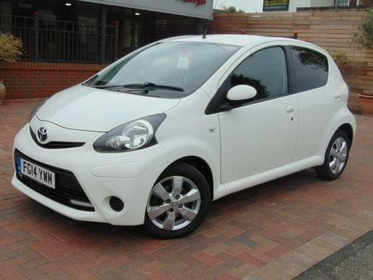 2014 Toyota AYGO 1.0 VVT-i Move with Style 5 door Petrol Hatchback