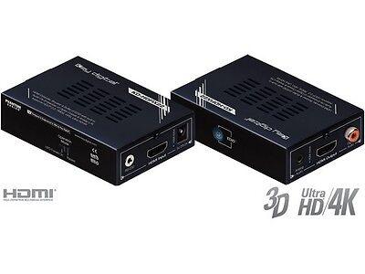Key Digital KD-HDFIX22 HDMI Extender/Booster/Buffer of EDID w Audio De-Embedder