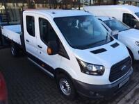 2018 Ford Transit 2.0 TDCi 170ps 'One Stop' D/Cab Tipper [1 Way] Diesel Double C