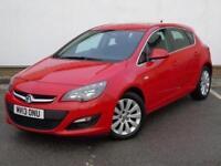 2013 Vauxhall Astra 1.7 CDTi 16V ecoFLEX Tech Line 5 door [Start Stop] Diesel Ha