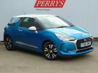 2016 Citroen DS3 1.2 PureTech Chic 3 door Petrol Hatchback