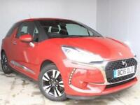 2016 Citroen DS3 1.2 PureTech 82 Chic 3 door Petrol Hatchback