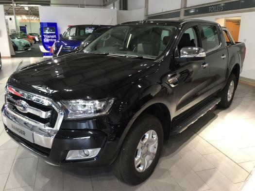 2016 ford ranger pick up double cab limited 1 3 2 tdci 200 auto diesel double ca in aylesbury. Black Bedroom Furniture Sets. Home Design Ideas